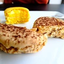 Praline macaron ( 50 บาท) Lemon macaron ( 50 บาท)