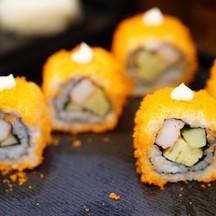 ซูชิ อร่อยโชยุรสชาติดีมาก แอบถามพนักงานบอกว่าเป็นสูตรเฉพาะของร้าน