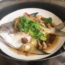 เนื้อปลาสดจัด รสชาติdeepมาก หอมน้ำนึ่งบ้วย