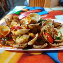 หอยตลับผัดพริกเผา เนื้อหอยกรุบและเด้งมากกกกกก