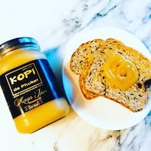 สังขยาโกปี๊ ทานกับขนมปังโฮลวีท ก็อร่อยมากๆ  สังขยาไข่ Kaya Jam ภูเก็ตแท้ 100%