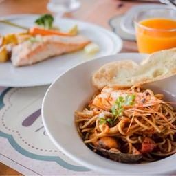 Spicy Seafood Spaghetti