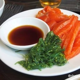 salmon & seaweed