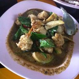 แกงเขียวหวานปลากราย