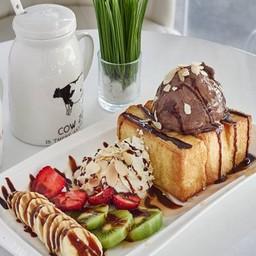 ช็อกโกแลตโทสต์ Chocolate Toast (ราคา 95 บาท)