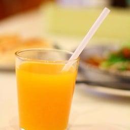 ชุดไข่กระทะ Set E (80 บาท) - น้ำส้มคั้น