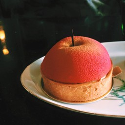 Apple mousse tart : 160 บาท รสชาตินี้รับรองไม่เคยกินที่ไหน มันเลิศมาก