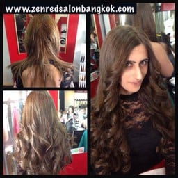 Hair Extensions human Premium Grade Quality at Zenred hair Salon Bangkok