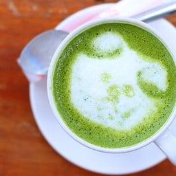 Hot Green Tea (55 บาท)