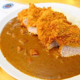 Katsu Curry (125 บาท) + Fried Egg (10 บาท)