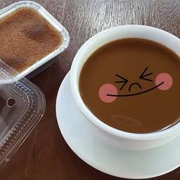 กาแฟกับขนมหม้อแกง เข้ากันได้ดี