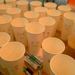 แก้ว emoticon อารมณ์ต่างๆ