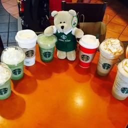 หมีบารีสต้าฮ่องจัดไปบ่ายลด 50%  @ Starbucks Montien