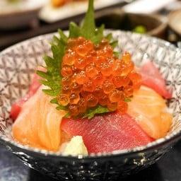 salmon maguro ikura don