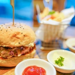Vegan Pulled BBQ Pork Burger ซอสวีแกนทั้งสามสูตรเฉพาะ อร่อยมาก