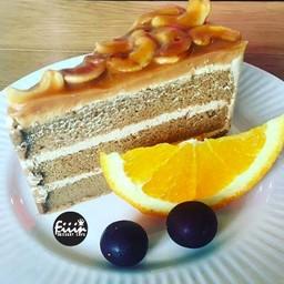 Cashew Nut Caramel Cake