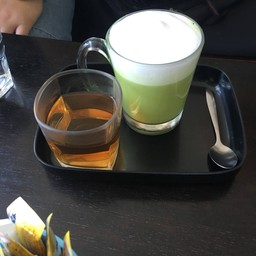 ชาเขียวร้อน 35 บาท