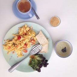 ชุดอาหารเช้าแบบไข่คน