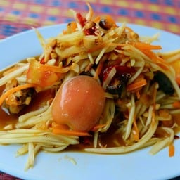 ส้มตำไทยปู