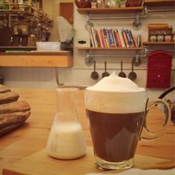 Hot Latte (Drip) 75฿