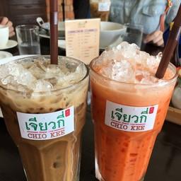 กาแฟโบราณเย็น+ชานมเย็น