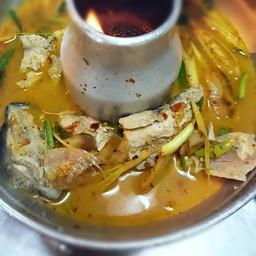 ต้มยำหัวปลาน้ำข้น