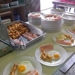 ไลน์อาหารเช้า
