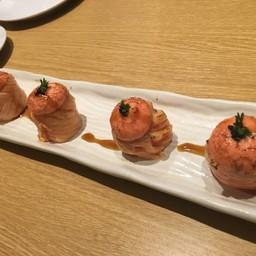 Seared Salmon Roll with Mentaiko##1