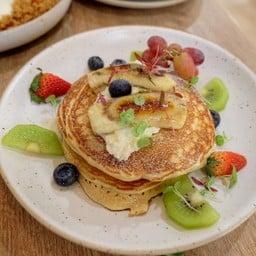 Ricotta Whole Wheat Pancakes