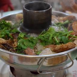 หัวปลาจีนต้มเผือก