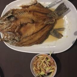 ปลากระพงทอดนำ้ปลา