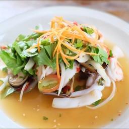 ยำหอยแมลงภู่ นิวซีเเลนด์