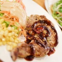สเต็กหมูคุโรบุตะ