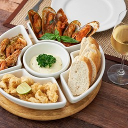 Set 3 Seafood Tapas