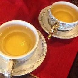 น้ำชา หลังจากนวดเสร็จ