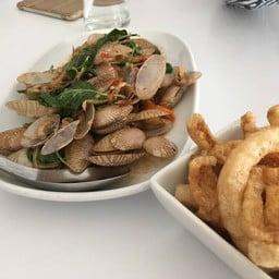 หอยเล็กมาก น้ำผัดหอยไม่มีเลย ไม่ผ่าน
