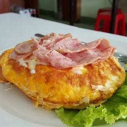 Egg Toast Ham Cheese