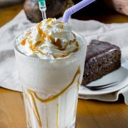 caramel milkshake .