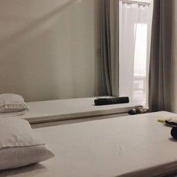 เตียงนวดไทยกั้นด้วยม่าน