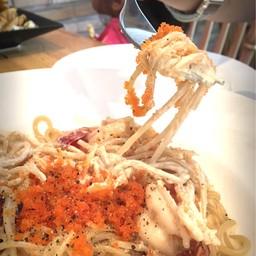 Spaghetti Shrimp Roe