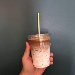 Espresso with milk ..