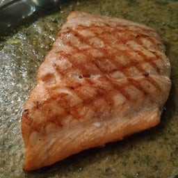 Salmon Steak ..