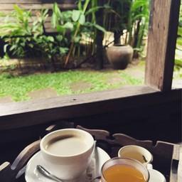 เมนูของร้าน Tanita Coffee House
