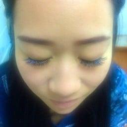 มีความขนตาสีน้ำเงินค่ะ #ดีงามมาก