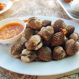 หอยแครงย่าง