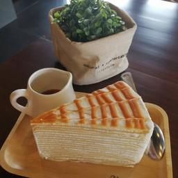 Caramel Crepe Cake
