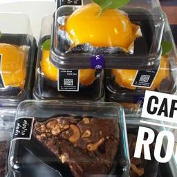 เค้กส้ม #orangecake #Nutellabrownie