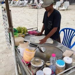 Roti Pancake หาดทรายแก้ว เกาะเสม็ด