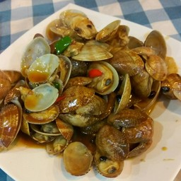 Fried Small Clam With Black Beans