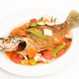 ปลากะพงเปรี้ยวหวาน